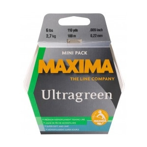 Image of Maxima UltraGreen Fishing Line 100m