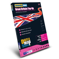Memory Map Digital Map Shop OS Landranger 1:50000 £25 Top Up Voucher