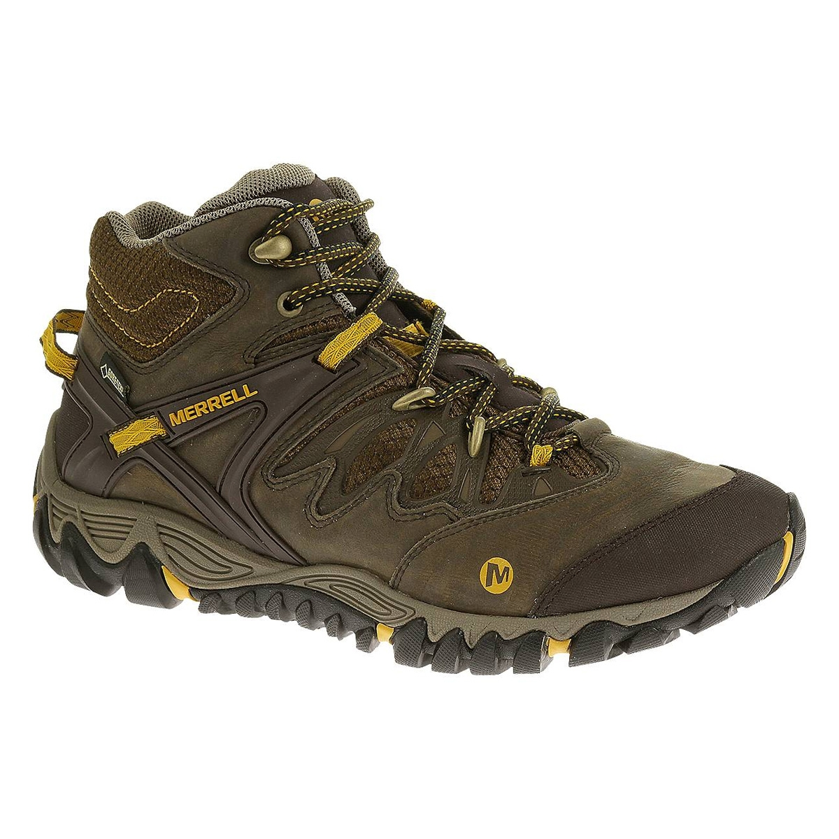 8ac6e0e16c1c Image of Merrell AllOut Blaze Mid GTX Walking Boots (Men s) - Black Slate