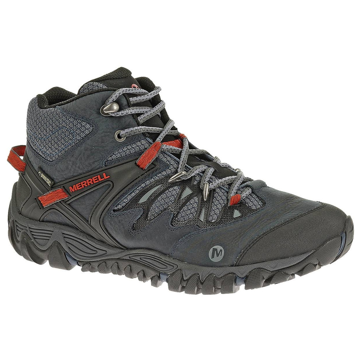 Image of Merrell Allout Blaze Mid GTX Walking Boots (Men s) - Blue Wing 4d028062ae