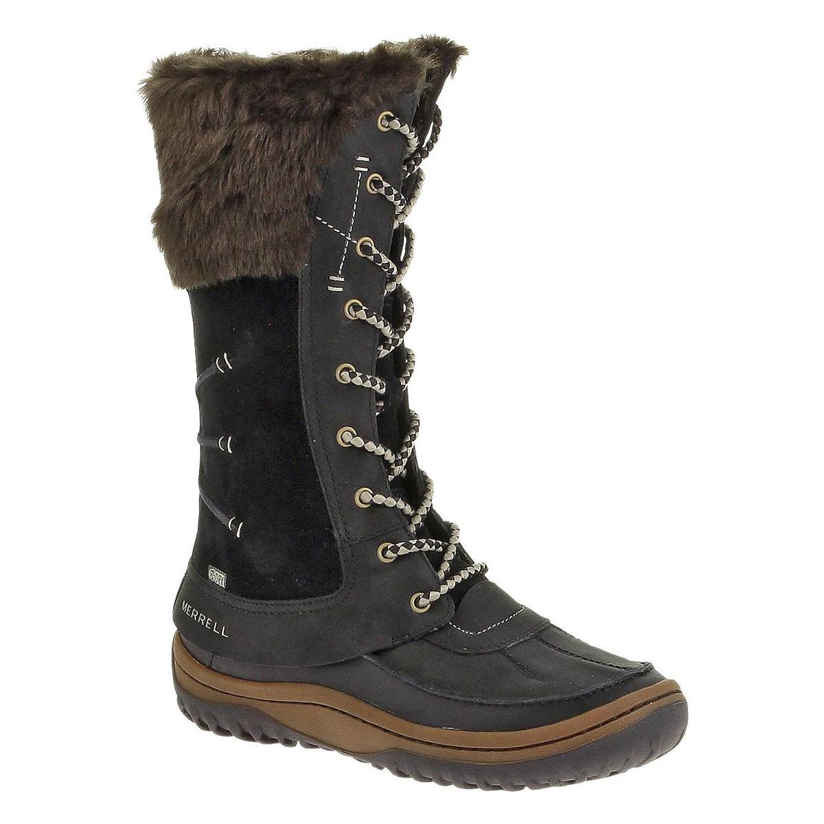 yksityiskohtainen ilme paras arvo herkät värit Merrell Decora Prelude Waterproof Boots (Women's) - Black