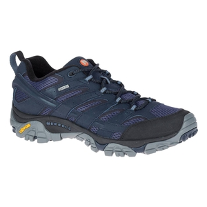 Image of Merrell Moab 2 GTX Walking Shoes (Men's) - Navy