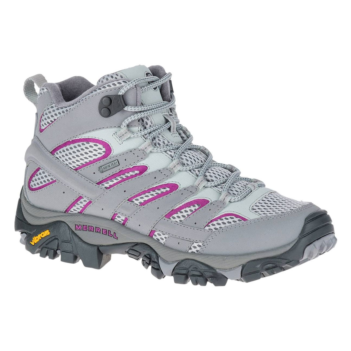 Image of Merrell Moab 2 MID GTX Walking Boots (Women s) - Frost Grey 4b956d3a13