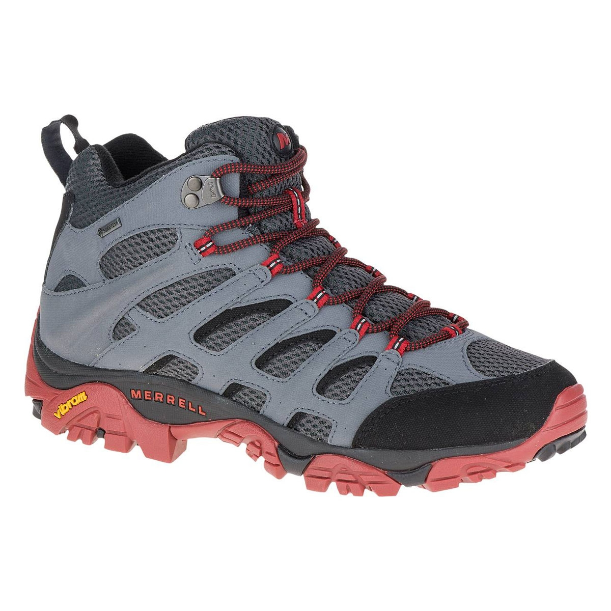 a3463728f06 Merrell Moab Mid Gore-Tex Walking Boots (Men's) - Castle Rock / Black