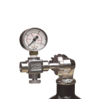 Image of Midland Diving Equipment DIN Charging System with Gauge, Bleed for Rapid7/Super10