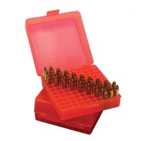 MTM Case-Gard Flip Top Ammo Box .17 HMR, .22