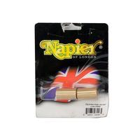 Napier Brass Snap Caps