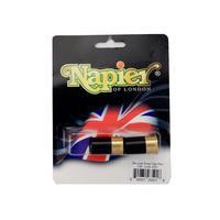 Napier Deluxe Brass Snap Caps
