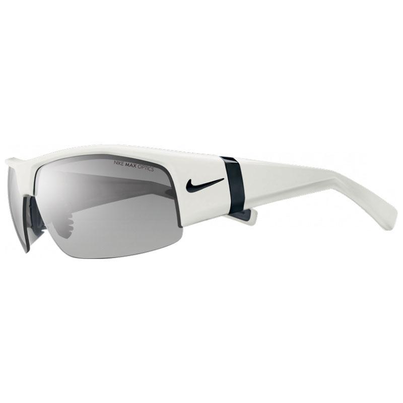 bdf5689281cb Image of Nike SQ Men's Sunglasses - Gloss White, Grey Silver Flash / Grey