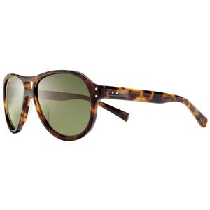 Image of Nike Vintage 81 Men's Sunglasses - Tortoise / Green