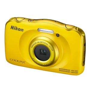 Image of Nikon Coolpix W100 13.2MP Digital Camera - Yellow