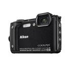 Image of Nikon Coolpix W300 16MP Waterproof Camera - Black