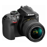 Nikon D3400 SLR Camera With AF-P 18-55MM Lens