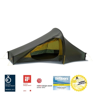 Image of Nordisk Telemark 2 LW Tent - Forest Green