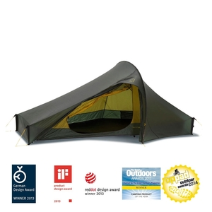 Image of Nordisk Telemark 2 ULW Tent - Forest Green