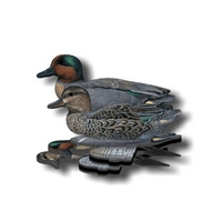 NRA Green Wing Teal Fold Up Decoy (FUD 6 Pack)