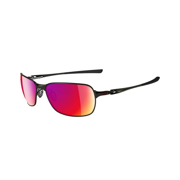 65ab6bd7d0498 Image of Oakley C-Wire Polarized Sunglasses - Pewter   Polarized Red Iridium
