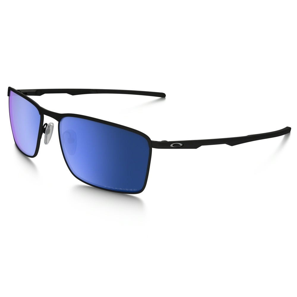 2352ca574a6 Image of Oakley Conductor 6 Polarized Sunglasses - Matte Black Frame Ice  Iridium Polarized Lens