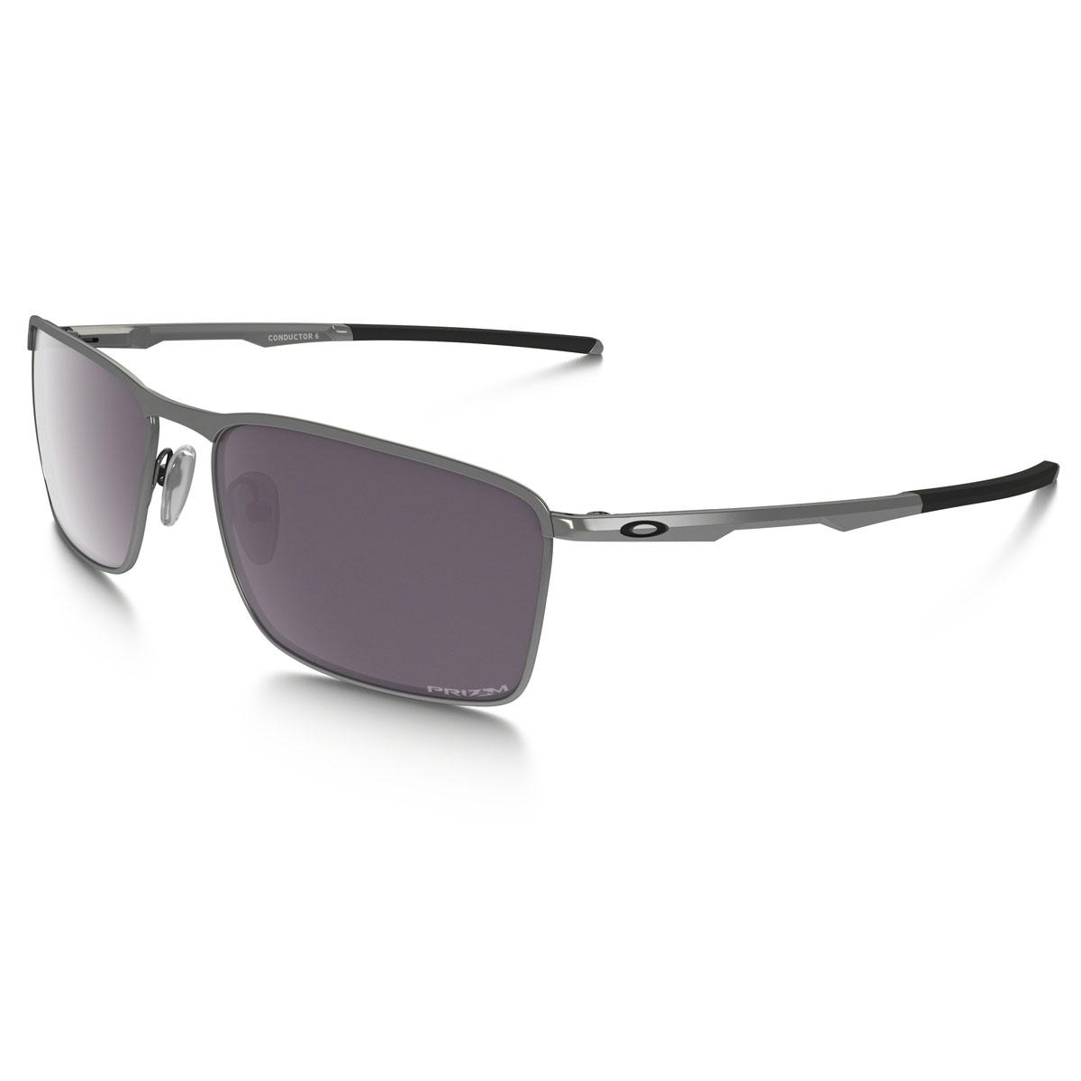 a763976a6e4 Image of Oakley Conductor 6 Prizm Daily Polarized Sunglasses - Lead Frame Prizm  Daily Polarized