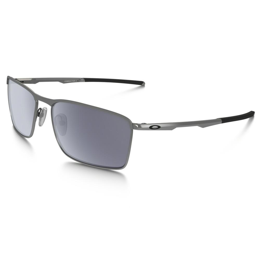 b89246fd4b Image of Oakley Conductor 6 Sunglasses - Lead Frame Grey Lens