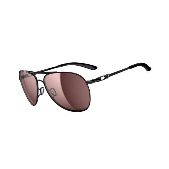 4dfb6d56c87 Image of Oakley Daisy Chain Women s Sunglasses - Polished Black   00 Grey  Polarized