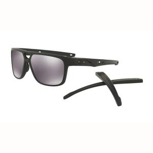 Image of Oakley Crossrange Patch Prizm Sunglasses - Matte Black Frame/Prizm Black Lens