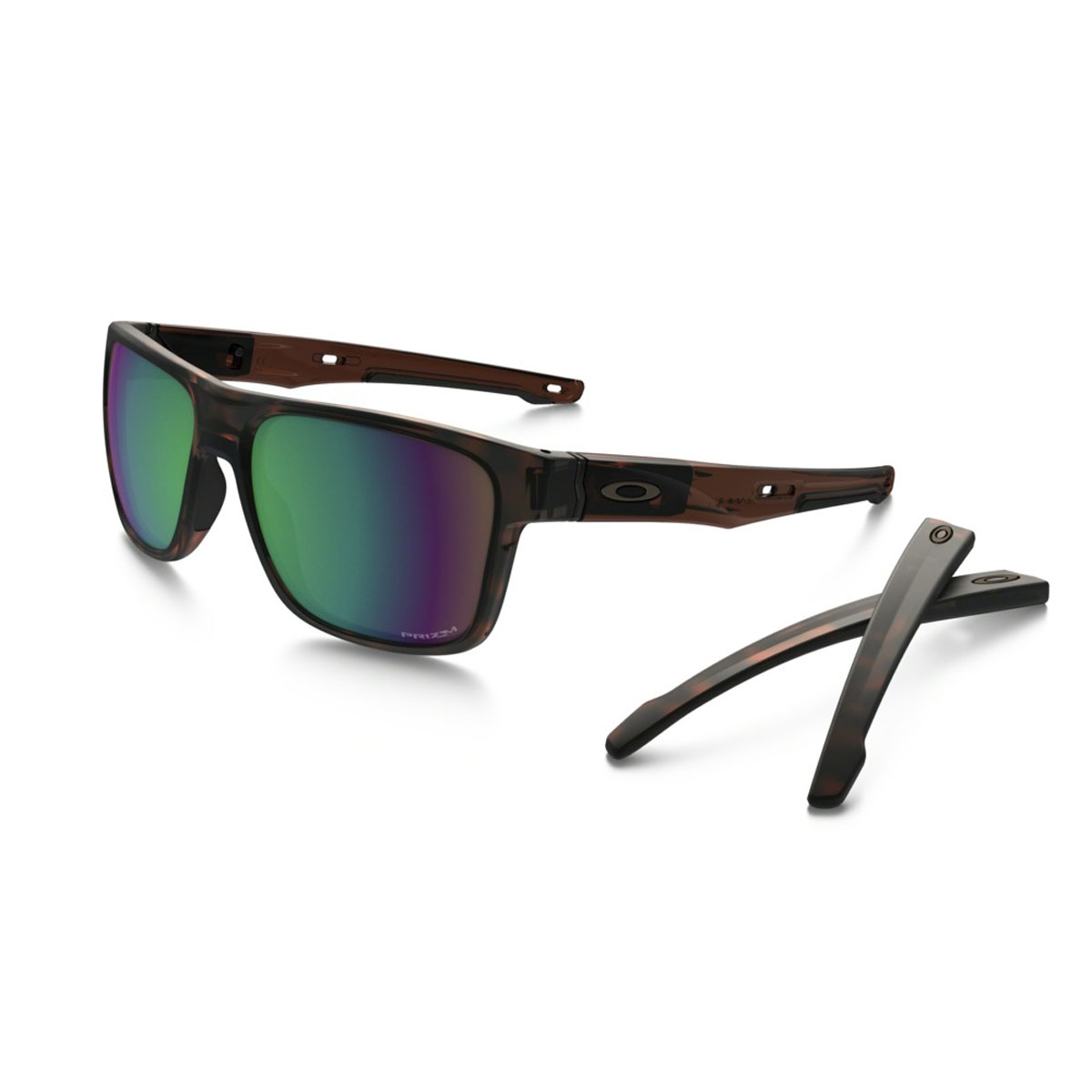 c09fd1c7c60d6 Image of Oakley Crossrange Prizm Shallow Water Polarised Sunglasses - Prizm  Shallow Water Polarised