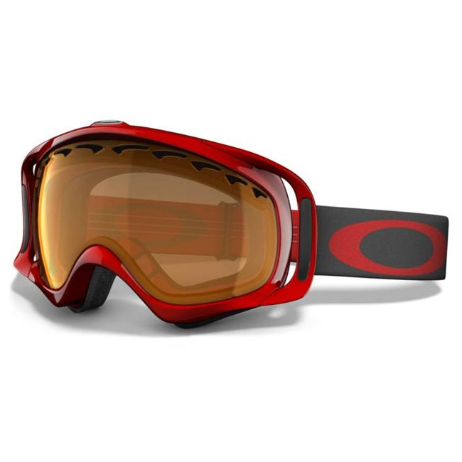 74acf1a1777 Image of Oakley Crowbar Snow Goggles - Viper Red   Persimmon