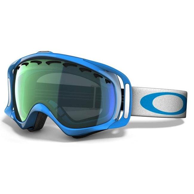 daf75007bafd Image of Oakley Crowbar Snow Goggles - Jewel Blue   Emerald Iridium