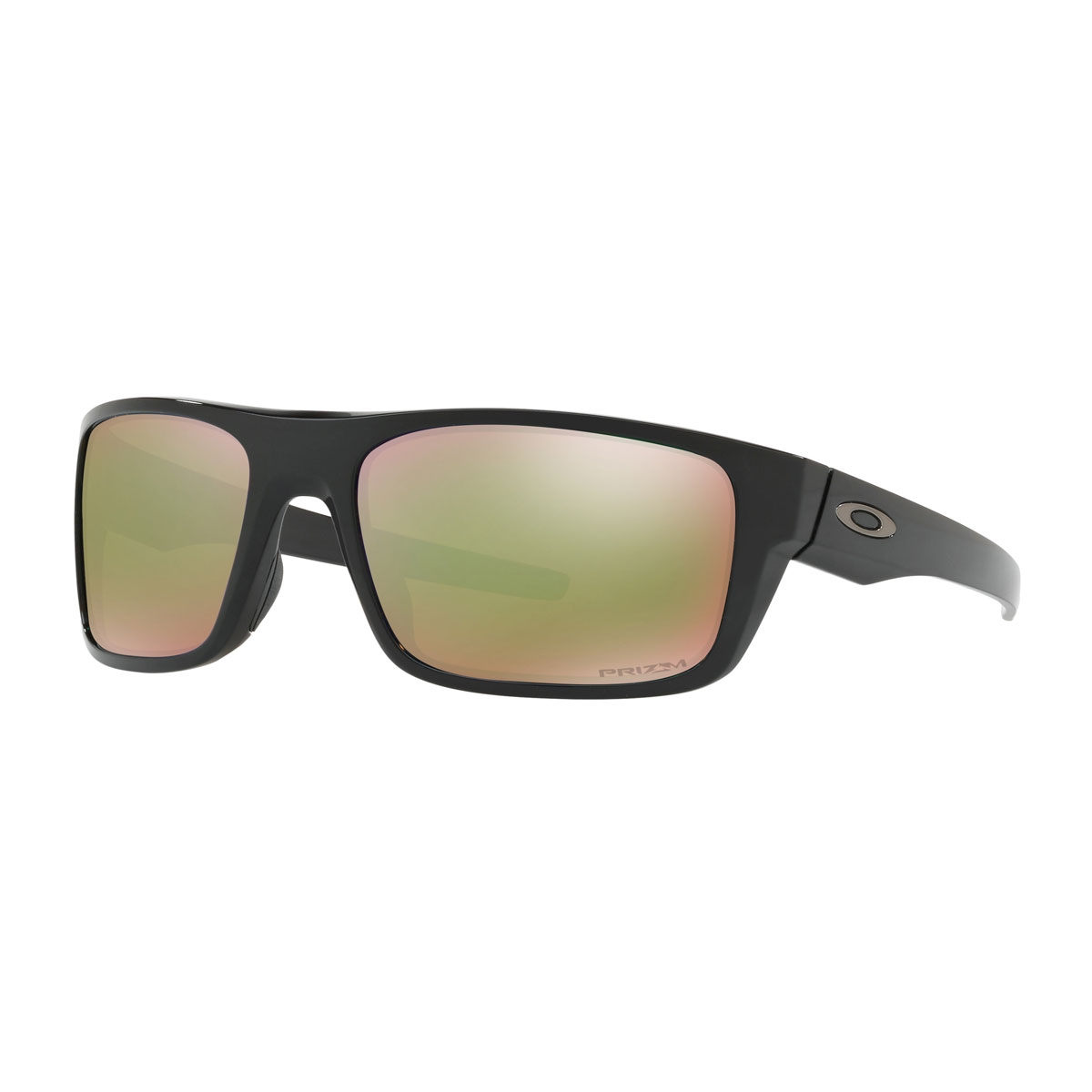 a73767b5c45f Image of Oakley Drop Point Prizm Polarised Sunglasses - Polished Black  Frame PRIZM Shallow Water