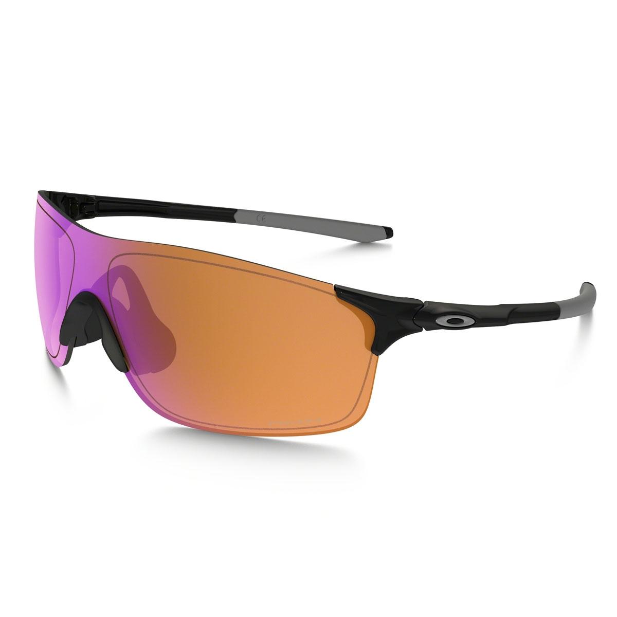 a2c811b6955 Image of Oakley EVZero Pitch Prizm Trail Sunglasses - Polished Black Prizm  Trail