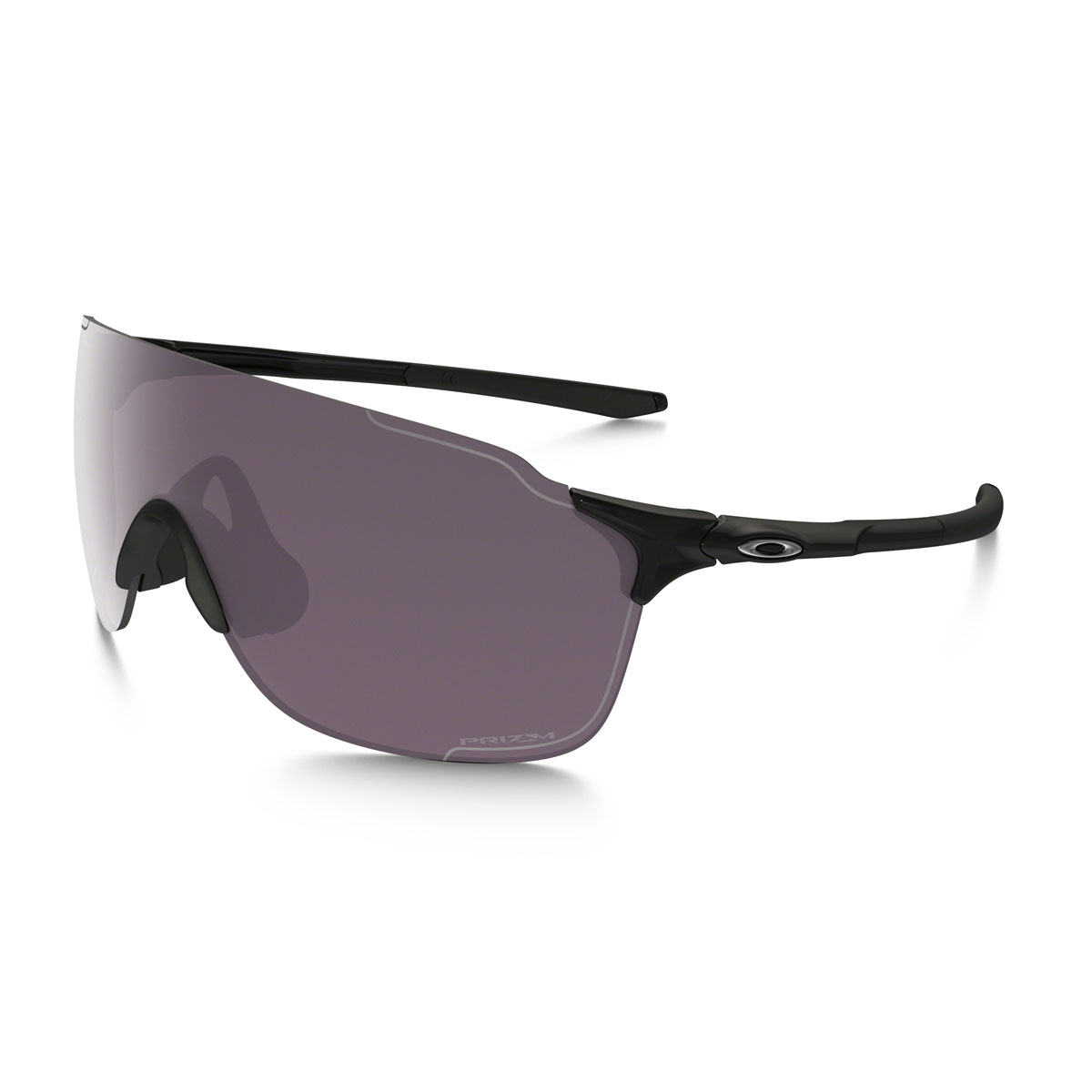 fb36ae5eae4 Image of Oakley EVZero Stride Prizm Daily Polarized Sunglasses - Polished  Black Prizm Daily Polarized