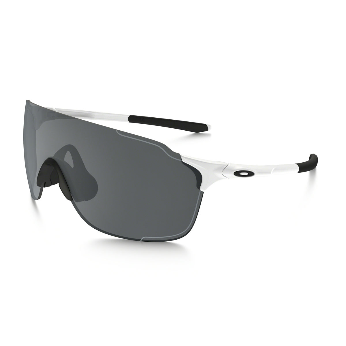 575a2ca2340 Image of Oakley EVZero Stride Sunglasses - Polished White Black Iridium