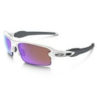 Image of Oakley Flak 2.0 Prizm Golf Sunglasses - Polished White Frame/Prizm Golf Lens