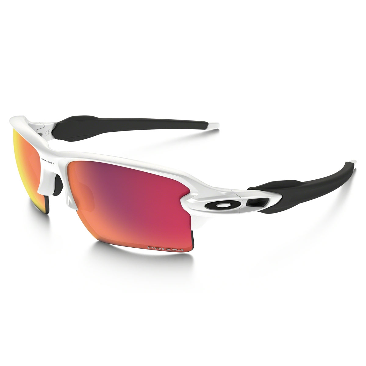 abd2a7df98a Image of Oakley Flak 2.0 XL Prizm Field Sunglasses - Polished White Frame  Prizm Field