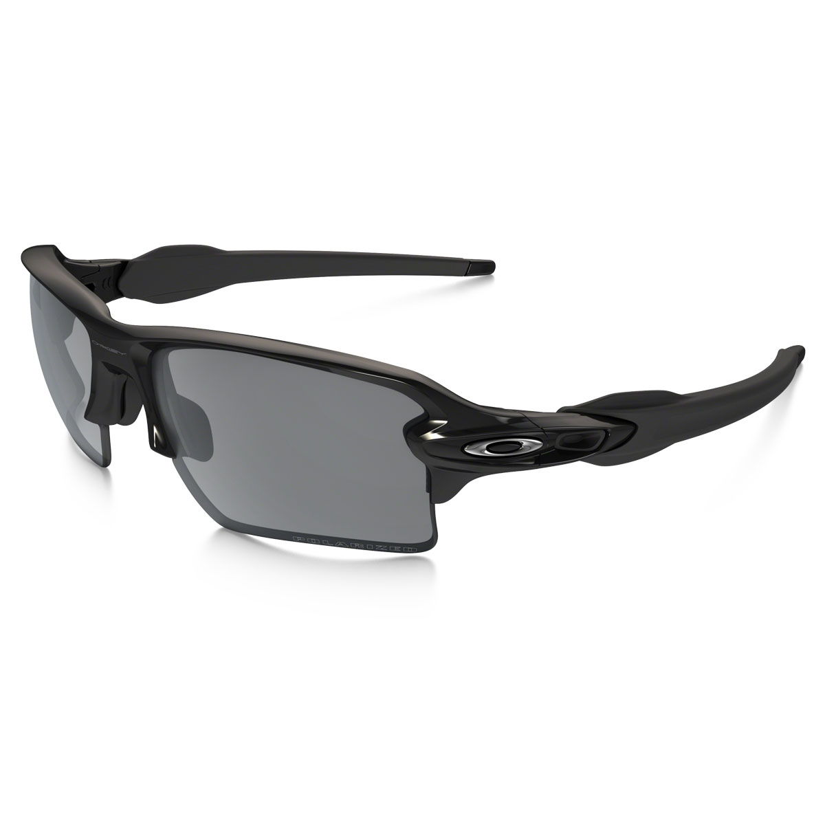 f58bafe7b6 Image of Oakley Flak 2.0XL Men s Polarized Sunglasses - Polished Black    Black Iridium Polarized