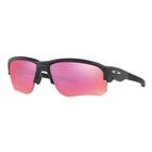 Image of Oakley Flak Draft Prizm Trail Polarized Sunglasses - Indigo Blue Frames/Prizm Trail Lens