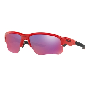 Image of Oakley Flak Draft Prizm Road Polarized Sunglasses - Infrared Frames/Prizm Road Lens