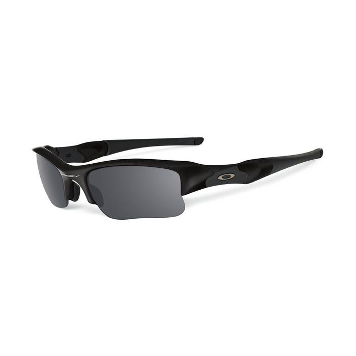 54356da79b Image of Oakley Flak Jacket XLJ Men s Polarized Sunglasses - Matte Black   Black  Iridium Polarized