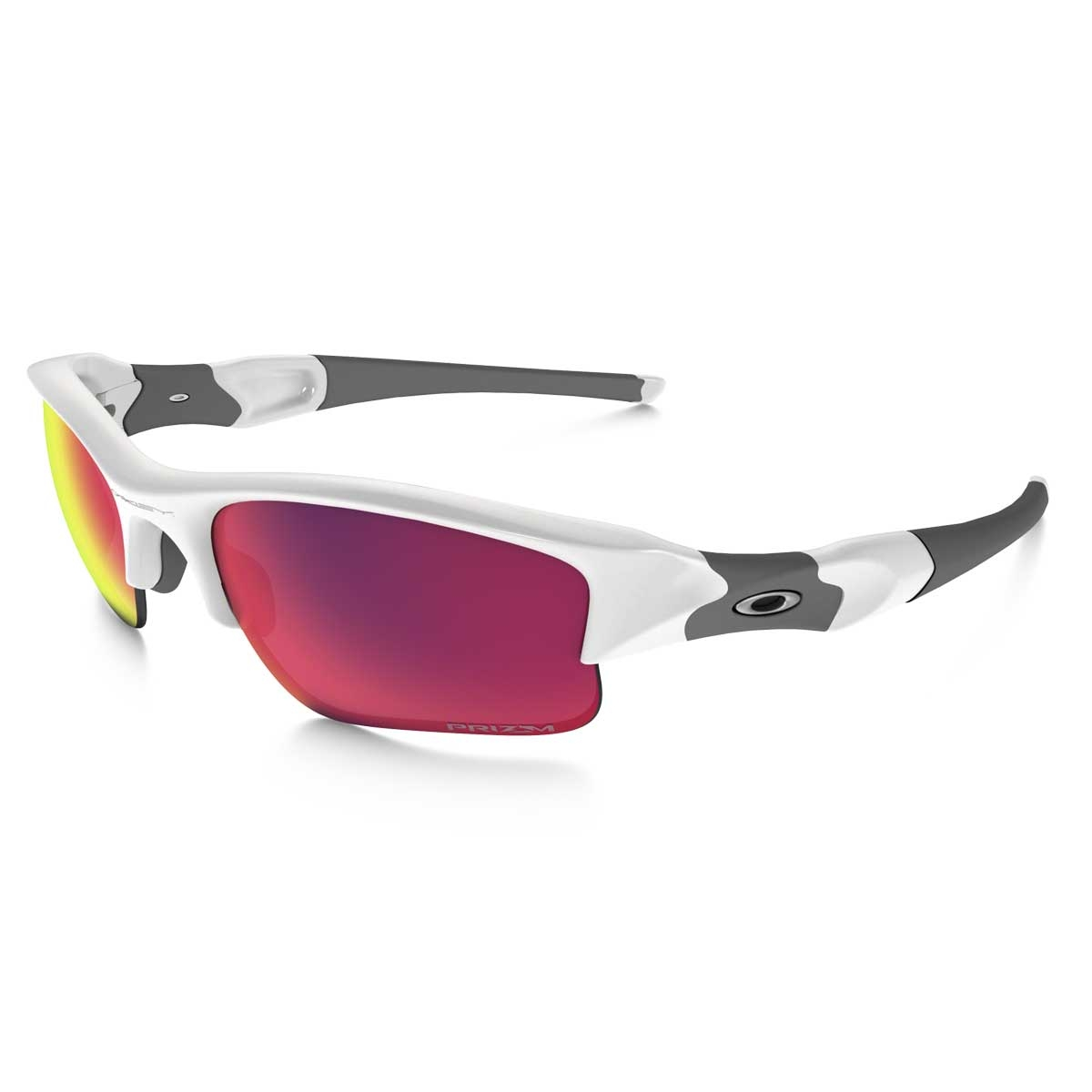 bd1e2f7126 Image of Oakley Flak Jacket XLJ Men s Polarized Sunglasses - Polished White    Prizm Road