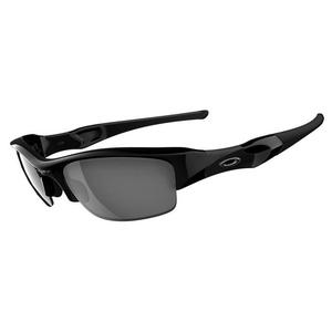 Image of Oakley Flak Jacket Men's Sunglasses - Jet Black / Black Iridium