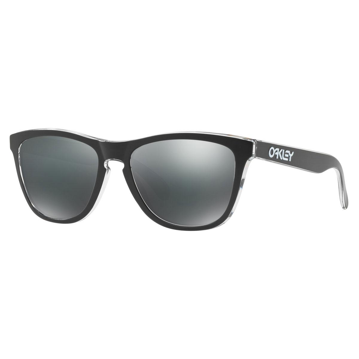 Oakley Frogskins Men\'s Sunglasses - Eclipse Clear Frames/Black ...