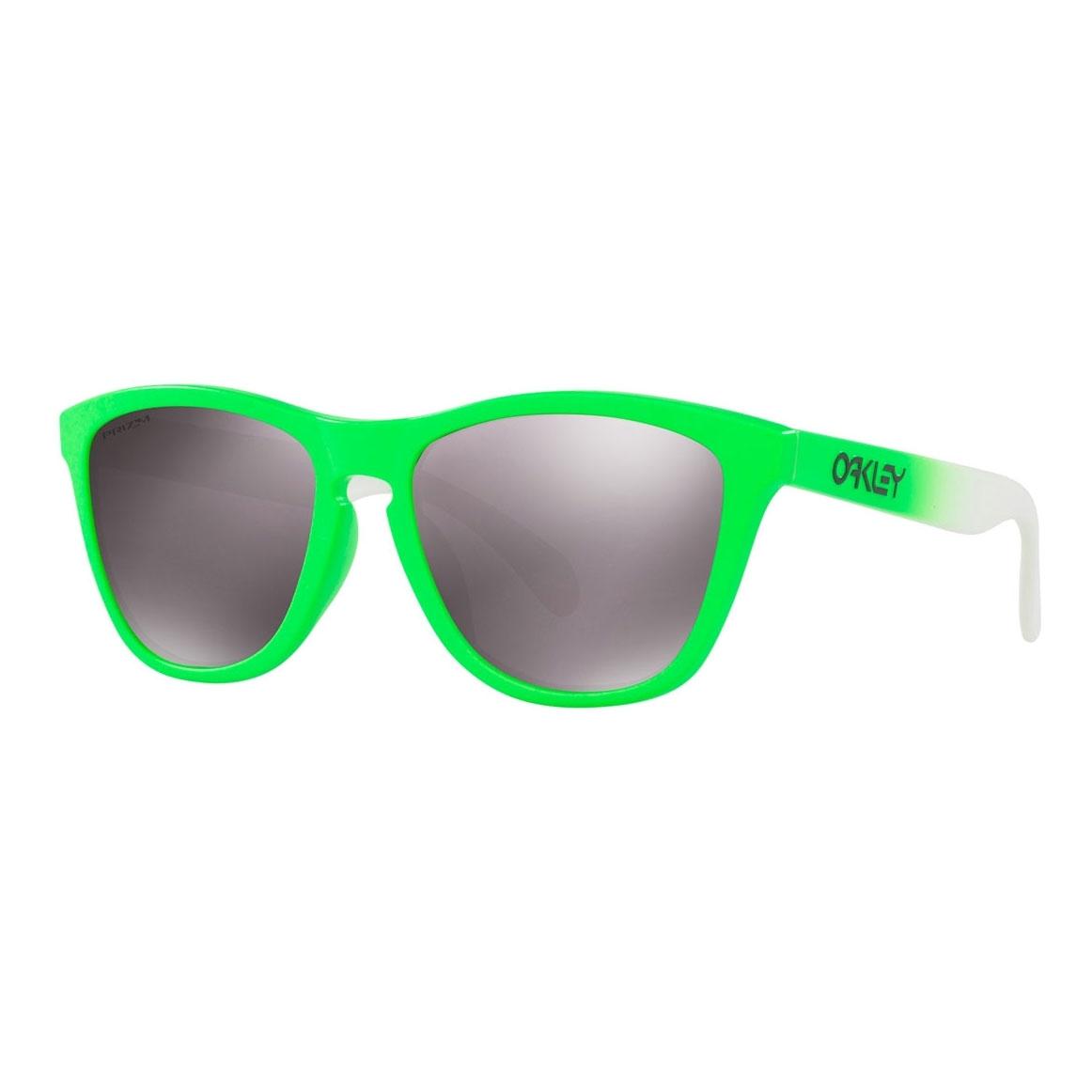 1913d4b98f22 Image of Oakley Frogskins Prizm Daily Polarized Sunglasses - Green Fade  Frame Prizm Daily Polarized