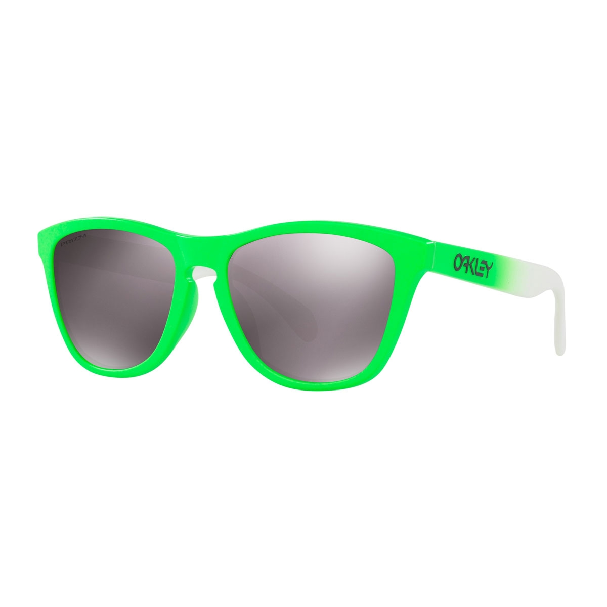 d52ed5fdd43 Image of Oakley Frogskins Prizm Daily Polarized Sunglasses - Green Fade  Frame Prizm Daily Polarized