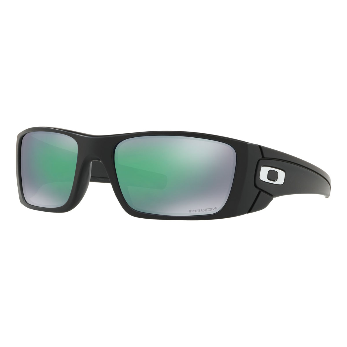 d4787145431 Image of Oakley Fuel Cell Lifestyle Men s Prizm Sunglasses - Matte Black  Frame PRIZM Jade