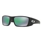 Image of Oakley Fuel Cell Lifestyle Men's Prizm Sunglasses - Matte Black Frame/PRIZM Jade Lens
