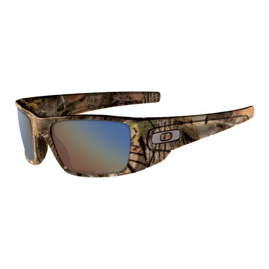 a8f2d93481 Image of Oakley Fuel Cell Men s Polarized Sunglasses - Woodland Camo    Shallow Blue Polarized