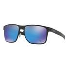Image of Oakley Holbrook Prizm Metal Sunglasses - Matte Black Frame/Prizm Sapphire Lens