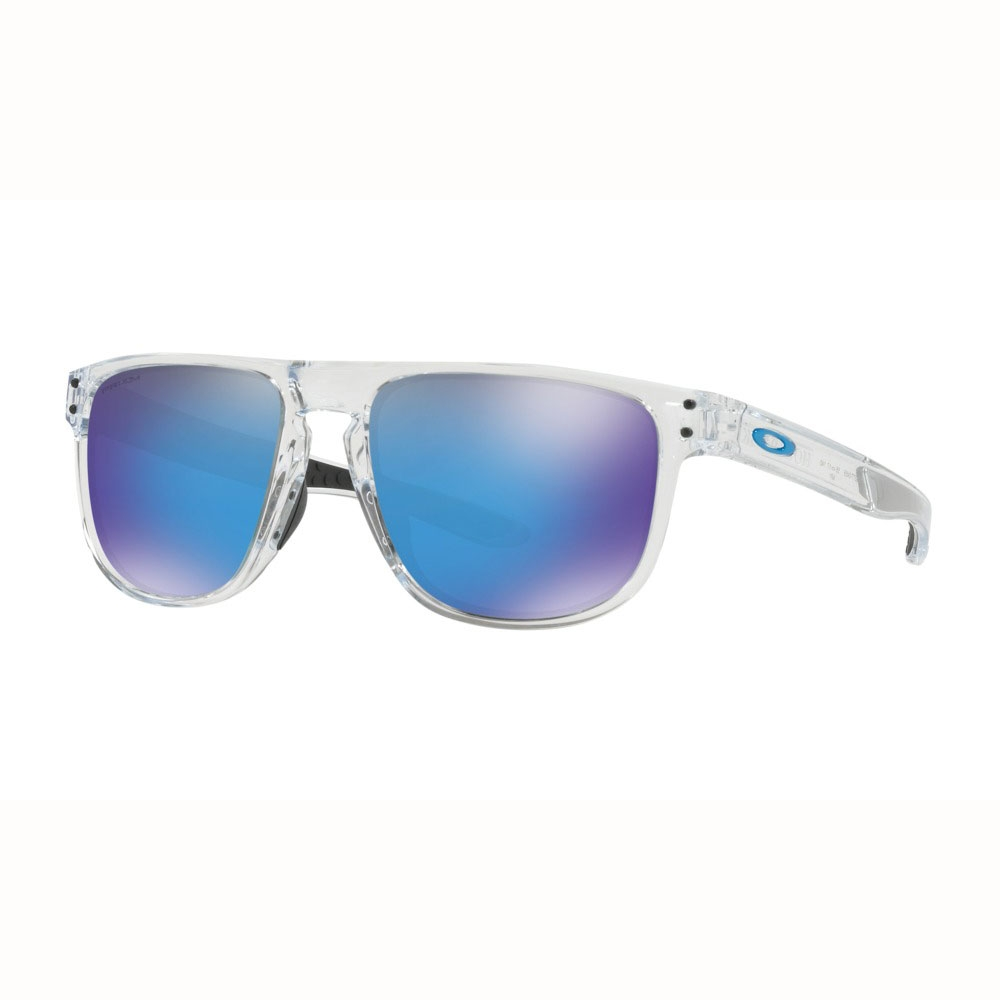 Oakley Holbrook R Prizm Sunglasses - Clear Frame/Prizm Sapphire Lens ...