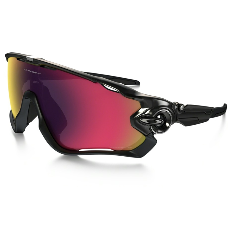 bec9e93d18 Image of Oakley Jawbreaker Men s Polarized Sunglasses - Black Ink   OO Red  Iridium Polarized